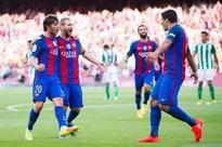 Barcelona 6-2 Real Betis: Suarez and Messi share limelight, Roberto emerges as a key player
