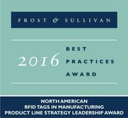 Omni-ID Receives Frost & Sullivan Leadership Award for RFID in Manufacturing
