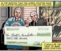 Comic Con(servatives): Creatives Adapt Clinton Cash as Graphic Novel