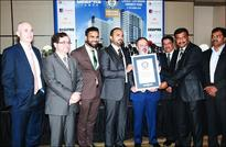 GEEPAS Tower achieves a GUINNESS WORLD RECORDS title for the Largest Continuous Concrete Pour