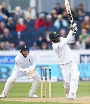 Durham Test PHOTOS: Sri Lanka's Mathews frDurham Test PHOTOS: Sri Lanka's Mathews frustrate Englandustrate England