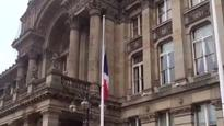 Flag flys at half mast in Birmingham to remember Nice victims
