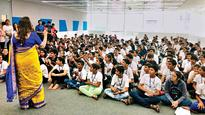 South Mumbai students prep civic kids for college