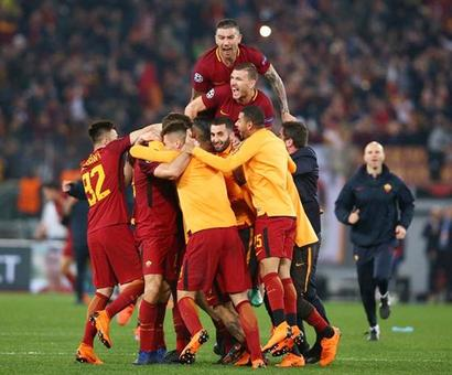 PICS: Roma dump Barca out of Champions League with stunning win