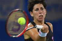 Injury ends Suarez Navarro's bid to reach WTA Finals
