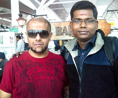 Spotted: Vishal Dadlani