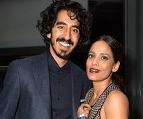 Dev Patel and Priyanka Bose meet Bill Clinton at the premiere of their film Lion