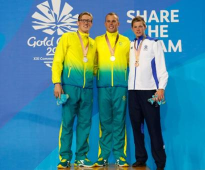 This swimmer won 200m freestyle after heart surgery