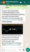 First Impressions: BloombergQuint launches WhatsApp service to distribute latest news