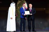 Abu Dhabi Crown Prince, Kazakh President handed over Zayed Future Energy Prize to school students from Australia and Indonesia