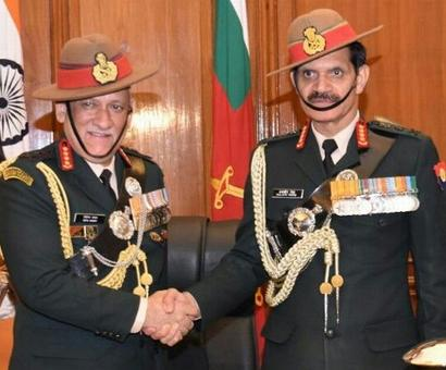PHOTOS: New Army, IAF chiefs take charge