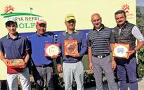 Sherpa wins Monthly Medal title