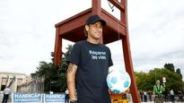 PSG striker Neymar becomes goodwill ambassador for world's disabled