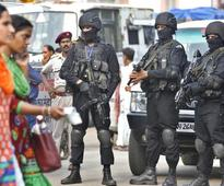 NSG commandos conduct mock drill at Delhi Metro airport express line