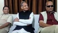 BJP follows decisions taken by Sangh: Ashok Gehlot