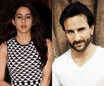 Saif is excited for Sara`s debut as it`s his first film