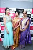 Sushma Khan did Lakme Bridal Illuminate Looks at Dilsukhnagar
