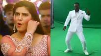 Watch: Chris Gayle dancing to Sapna Chaudhary's 'Teri Ankhya Ka Yo Kajal' is going viral