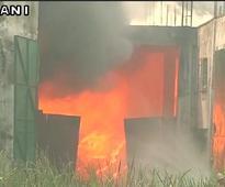 Fire guts Kolkata shoe factory, no one hurt