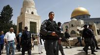 'Israeli extremists backed by security forces' have stormed Al-Aqsa mosque four times during Passover week