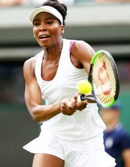 Mid-match madness! Venus made to change bra during rain break