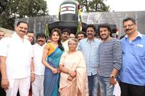 Uppi and Rachita Ram film on floor, Madesh to direct