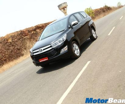 The new Innova Crysta is the perfect family vehicle