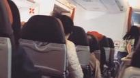 Passengers told to 'say a prayer' after engine in AirAsia plane 'shudders like a washing machine and shuts down'