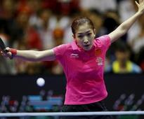Table tennis-Chinas world No.1 Liu misses out on Rio singles spot