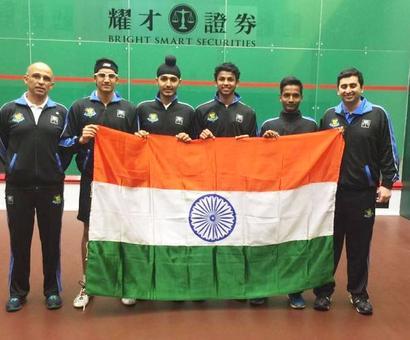 Asian Junior Squash: Indian boys clinch gold!