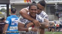 Kata double sees Warriors through to NRL Nines semifinals