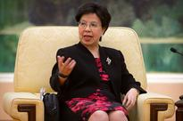 Chinese President Xi Jinping meets World Health Organization Director-General Margaret Chan In Beijing