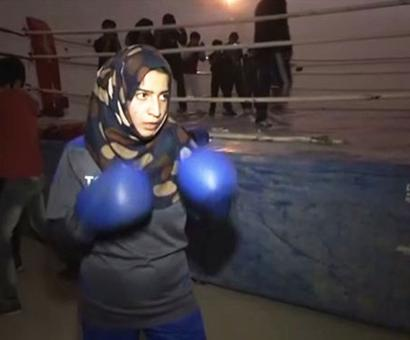 This Kashmiri boxer wants to emulate Mary Kom