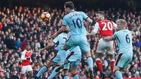 EPL: Arsenal 2-1 Burnley