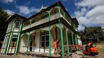 First section of historic manor departs Palmerston North