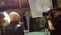 Photo Flash: First Look - Patrick Stewart on Set of X-MEN: DAYS OF FUTURES PAST