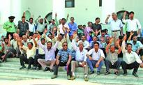 JKTDC employees hold protest