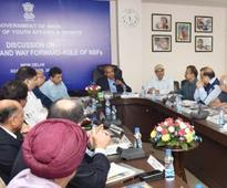 Sports Minister Vijay Goel reviews India's Rio Olympics performance with national sports federations