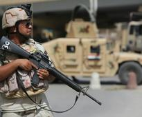 Blasts rock Baghdad, killing at least two