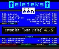 VRT to scrap Teletekst after 36 years of service