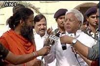 Lalu Prasad Yadav turns model for Baba Ramdev's Patanjali; says people jealous of yoga guru