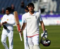 Alastair Cook relieved to get 10,000-run landmark out of the way