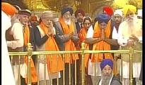 Narendra Modi becomes first PM to serve langar at Golden Temple