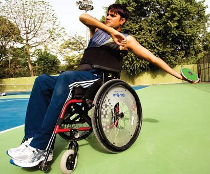 Para athlete Saroha wins gold in record breaking performance
