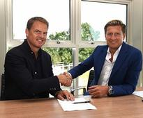 Premier League: Crystal Palace name Frank de Boer as new manager on three-year deal