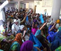 Farmers From Narmada Valley Occupy Collectorate