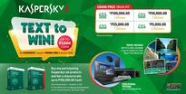 Kaspersky Lab, iSecure Networks launch Secure and Text to Win promo