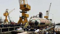 Khanderi, the second Scorpene class submarine with superior stealth launched today