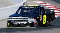 John Hunter Nemechek, Chevrolet win wild NASCAR Truck Series race in Canada