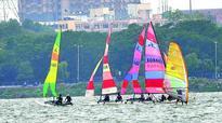 Hyderabad Sailing Week: Rishab Nayar leads